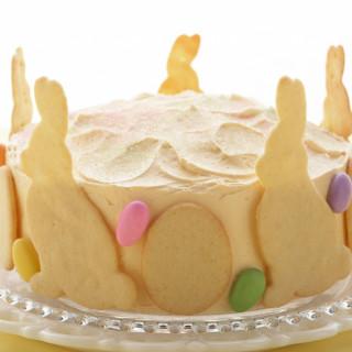 Raspberry-Lemon Easter Cake