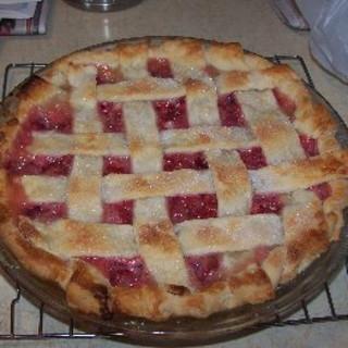 Rhubarb Lemon Pie