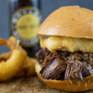 Root Beer Braised Short Rib Sandwiches