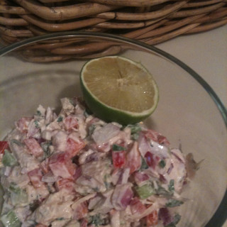 Chicken Salad with a Jalapeno Kick