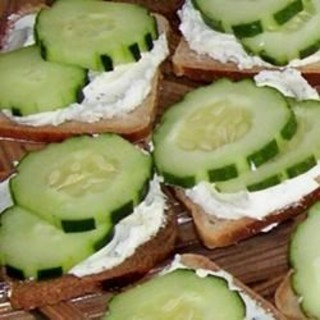 Sassy Cucumber Appetizers