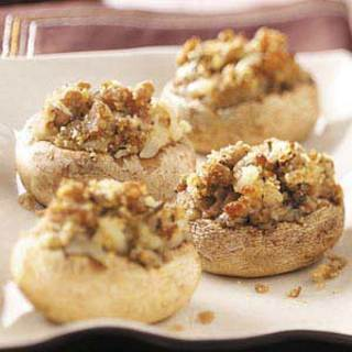Sausage-Stuffed Mushroom Appetizers