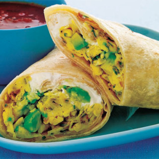 Scrambled Burrito