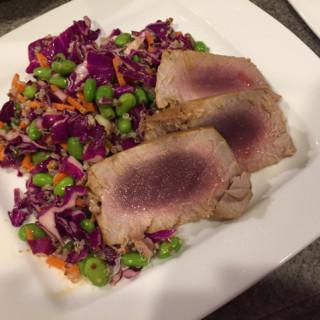 Seared Tuna and Asian Salad
