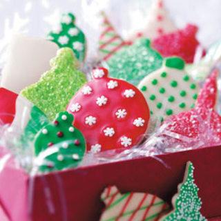 Shortbread Ornament Cookies Recipe