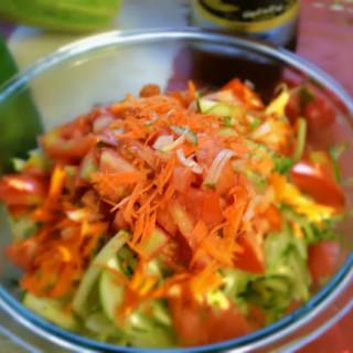 Shredded Zucchini Salad