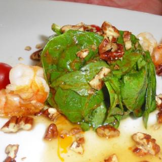 Shrimp Avocado Salad with Pistachio Nuts