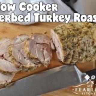 Slow Cooker Herbed Turkey Roast