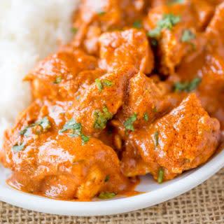 Slow Cooker Indian Butter Chicken