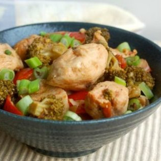 Slow Cooker Savory Chicken