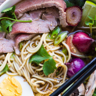 Slow Cooker Weeknight Pho