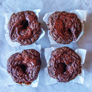 Smoky Chocolate and Bran Muffins