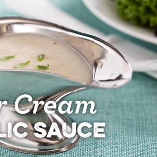 Sour Cream Garlic Sauce