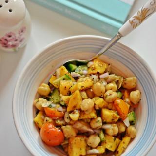 Spiced Chickpea Mango Salad