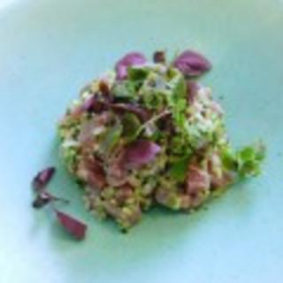 Spiced Tuna Tartare