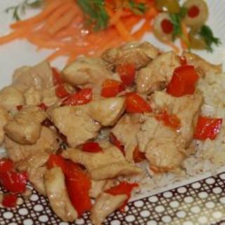 Spicy Lemongrass Tamarind Chicken