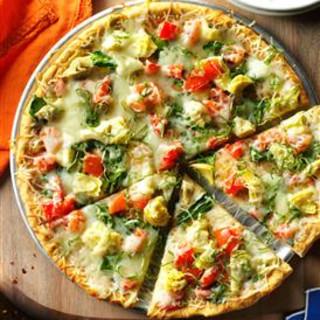 Spinach and Artichoke Pizza Recipe