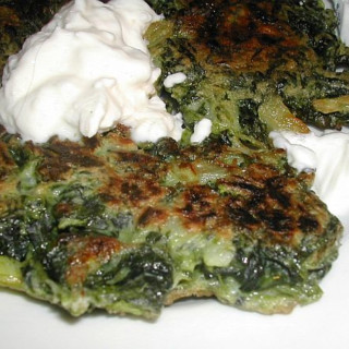 Spinach Fritters (Rachael Ray)