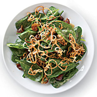Spinach Salad with Dates