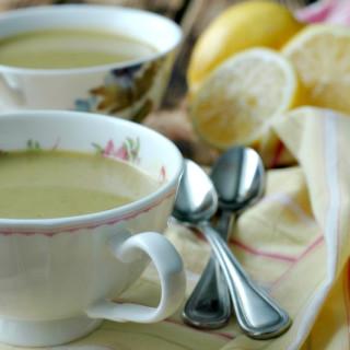 Spring Leek & Asparagus Soup :: Gluten & Dairy Free!