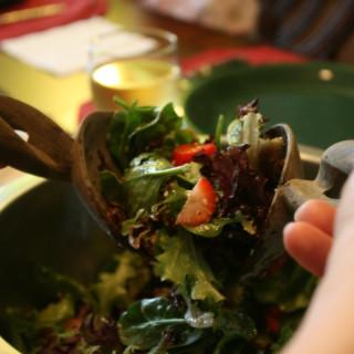 Spring Mix Strawberry Salad