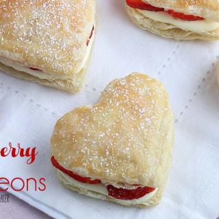 Strawberry Napoleon Recipe + Video