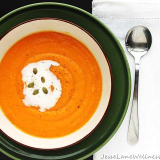 Sunshine Carrot Soup (gluten free, vegan, paleo)