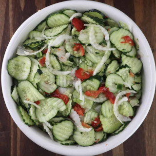 Sweet Freezer Pickles
