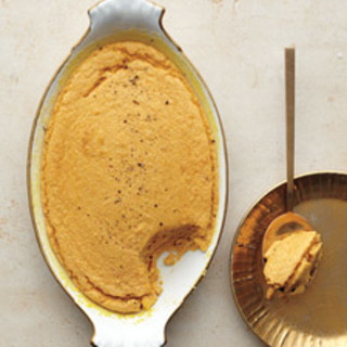 Sweet Potato-Ginger Spoon Bread
