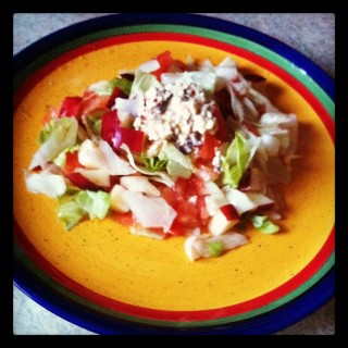 Sweet-Spicy Chipotle Salad