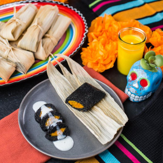 Tamales Dulces de Muerto
