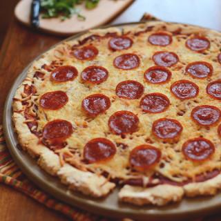 The Best Gluten-Free Pizza Crust + Sauce