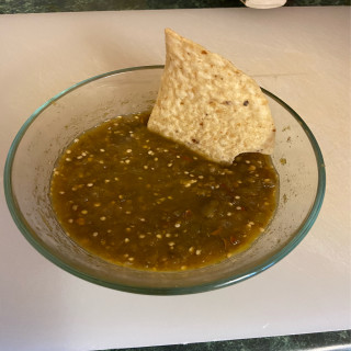 Tomatillo Chipotle Salsa - v2