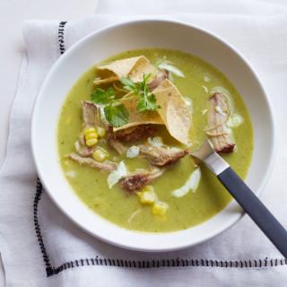 Tortilla-Corn Soup