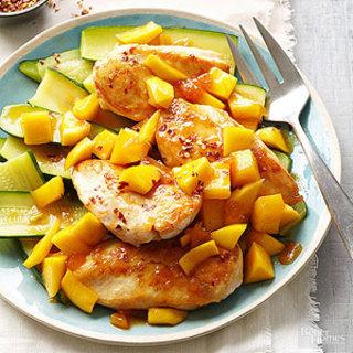 Triple-Mango Chicken
