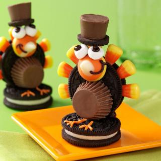 Turkey Pilgrim Cookies