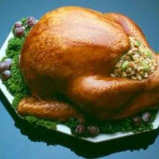 Turkey with Molasses Glaze