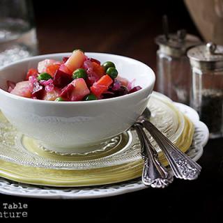Ukrainian Beet Salad   Salat Vinagret