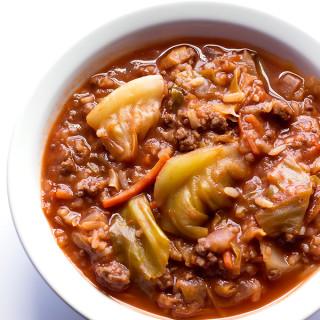 Unstuffed Cabbage Roll Soup Recipe