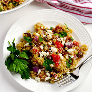 Greek Quinoa Salad (with Bob's Red Mill)