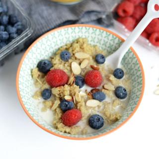 Vanilla Bean Breakfast Quinoa