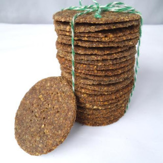 Vegan Crackers Made from -- Lentils?! grain free & nut free options