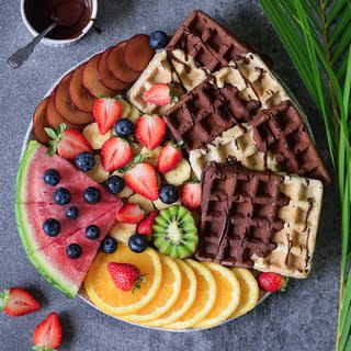 Vegan gluten free waffles