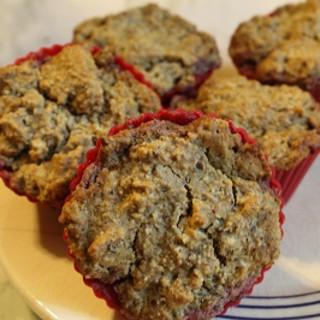 Vegan Scone Muffin with Homemade Jam