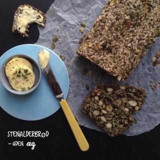Vegansk Stenalderbrød uden æg