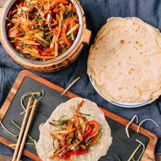 Vegetable Moo Shu