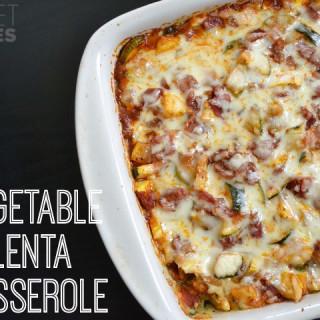 Vegetable Polenta Casserole