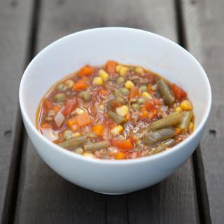 Veggie Beef Soup