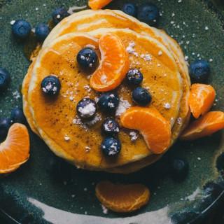 Zesty Orange Buttermilk Pancakes