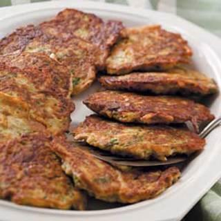 Zucchini and Potato Pancakes Recipe